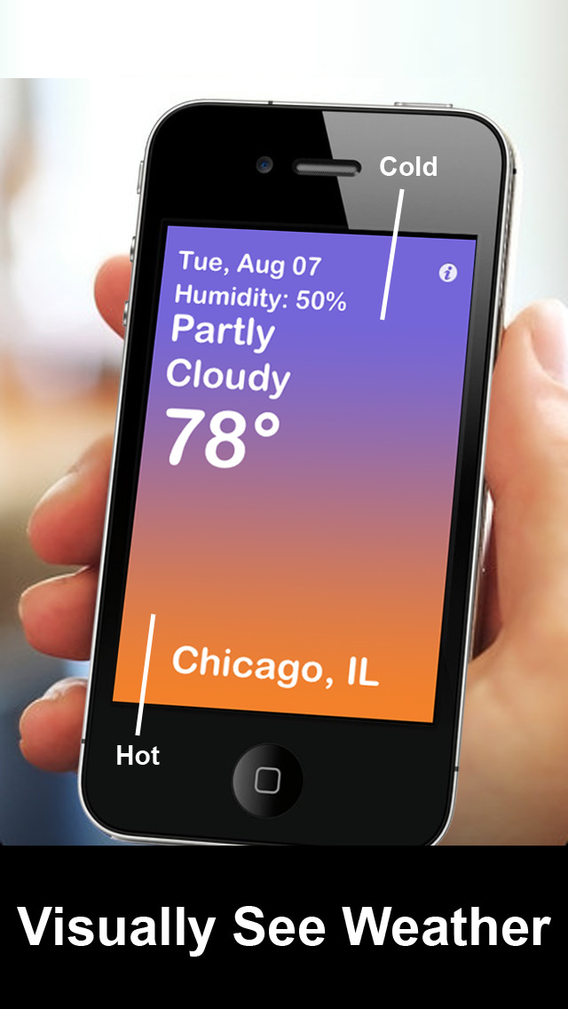 Visual Weather+ Touch screenshot 1