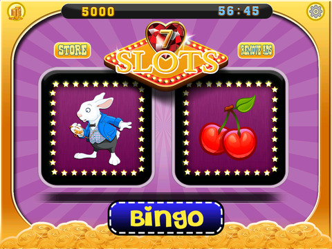 A Lucky Rabbit Slots Game - Vegas Wonderland Casino Games HD screenshot 7