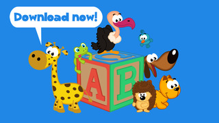 Play with Letter animals - The 1st Jigsaw Game for a toddler and a whippersnapper free screenshot 5