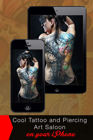Piercing & Tattoo Salon PRO - Try Virtual Tattoo D - náhled