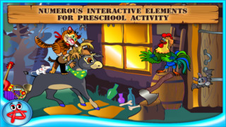Bremen Town Musicians: Free Interactive Touch Book screenshot 4
