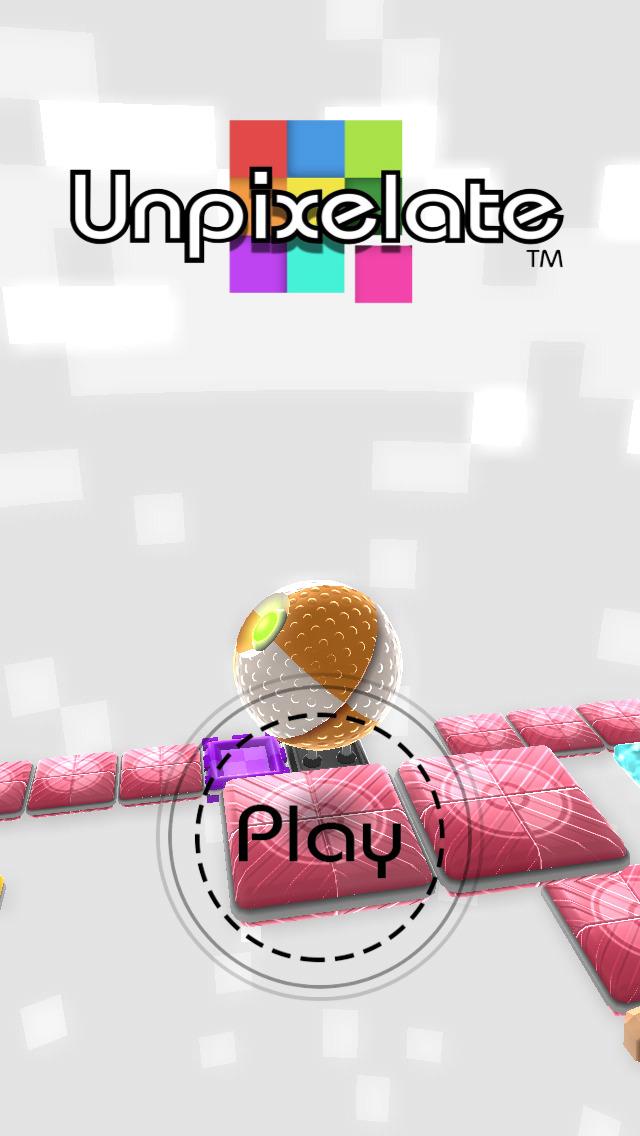 Unpixelate (3D puzzle) screenshot 1