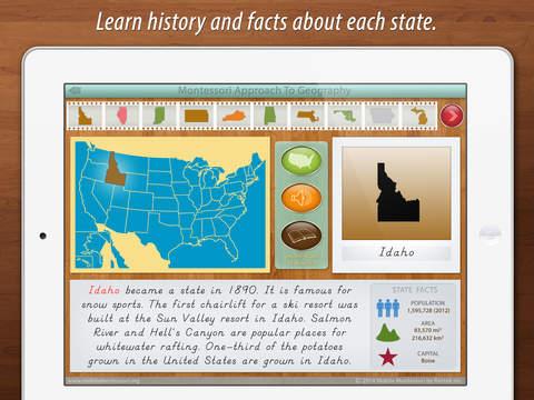 United States of America Map screenshot 7