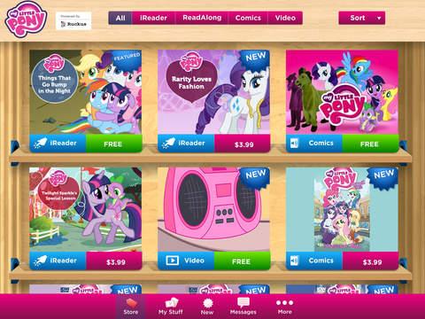 My Little Pony eBooks + Comics screenshot 6