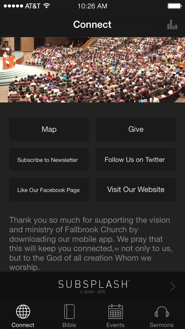 Fallbrook Church App screenshot 1