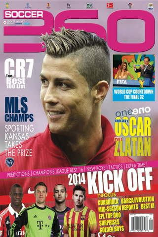 Soccer 360 Magazine - featuring the best from arou - náhled