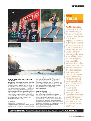 Triathlon Plus Magazine screenshot 5