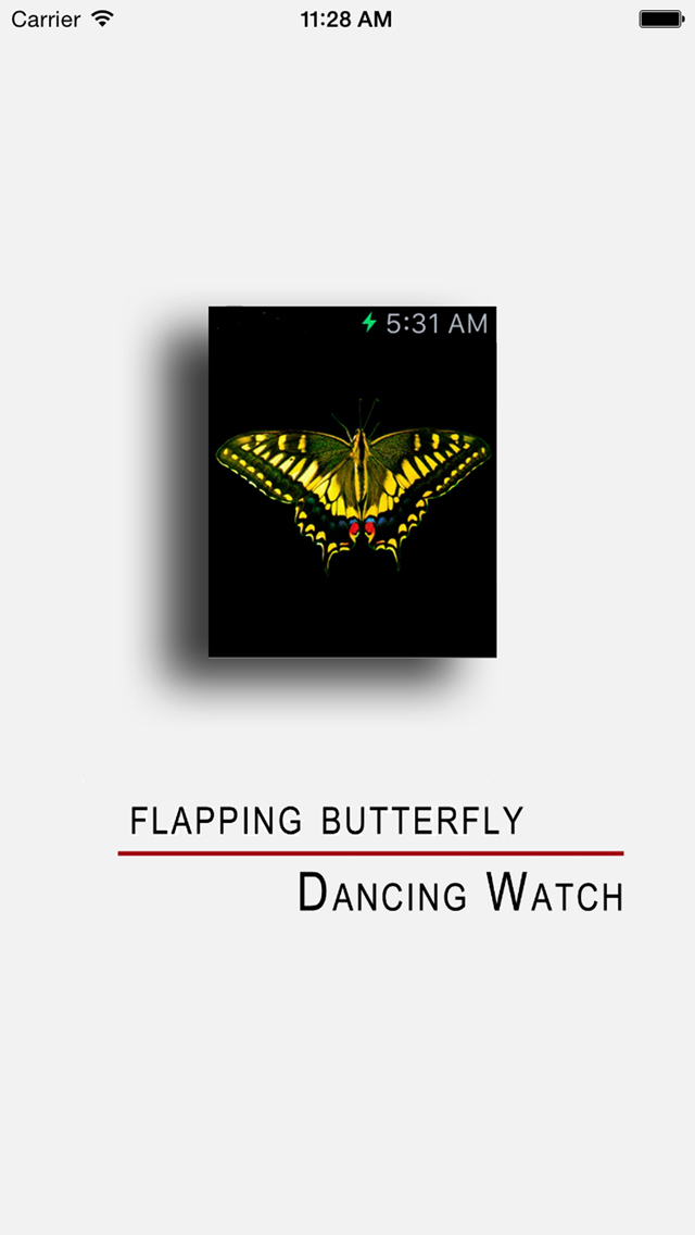 Dancing Butterfly screenshot 1