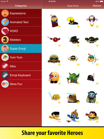 Animated Emoji Keyboard - Emoticons for iPhone & iPad screenshot 7