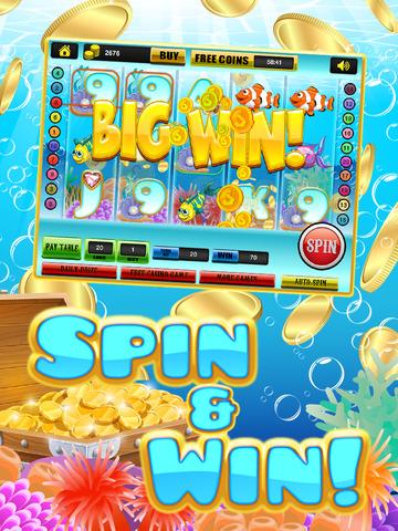 Ace Rich Fish Casino Slots - Lucky Jackpot Prize Wheel Slot Machine Games HD screenshot 8