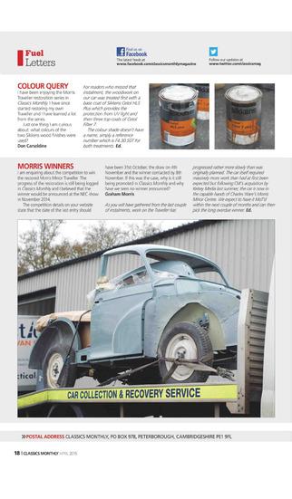 Classics Monthly Magazine screenshot 2