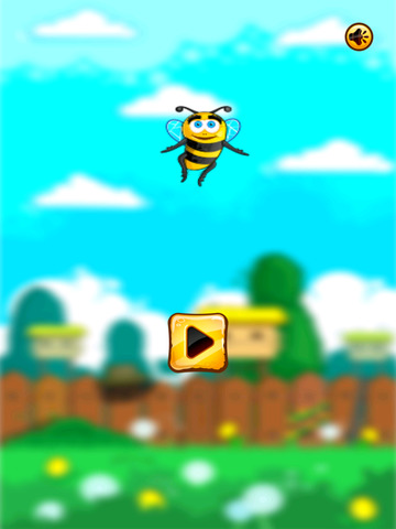 Flying Bee Bash screenshot 5