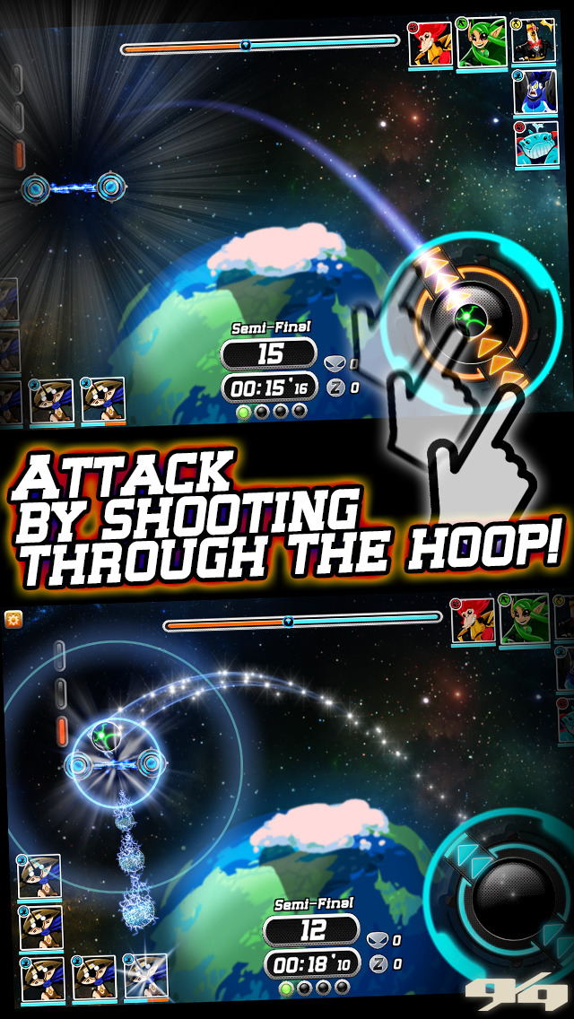 Galaxy Jam: Space Basketball Wars screenshot 2