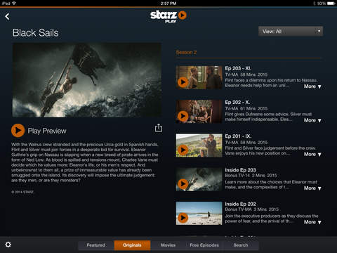 STARZ screenshot 7