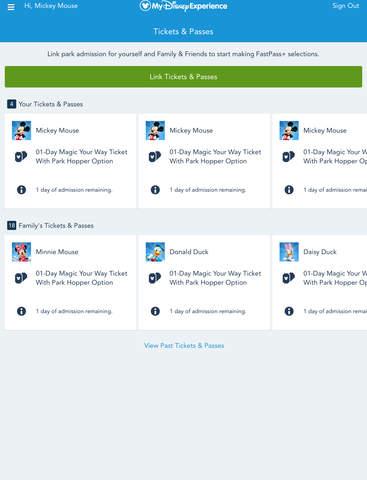 My Disney Experience - Walt Disney World screenshot #3