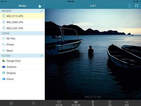 WinZip: #1 zip & unzip tool screenshot 6