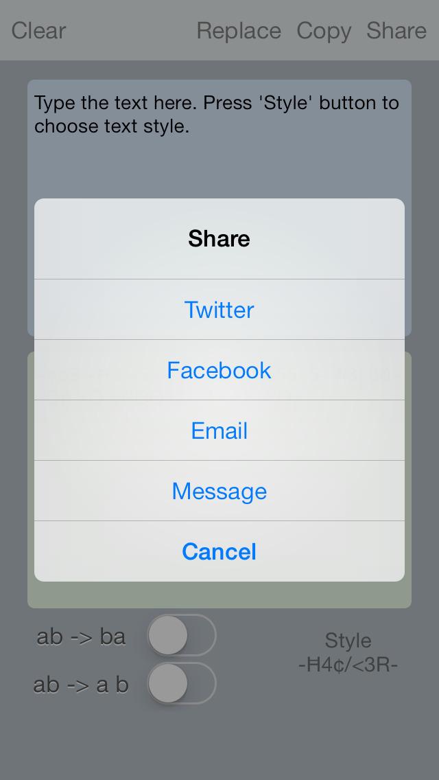 weird text generator for facebook