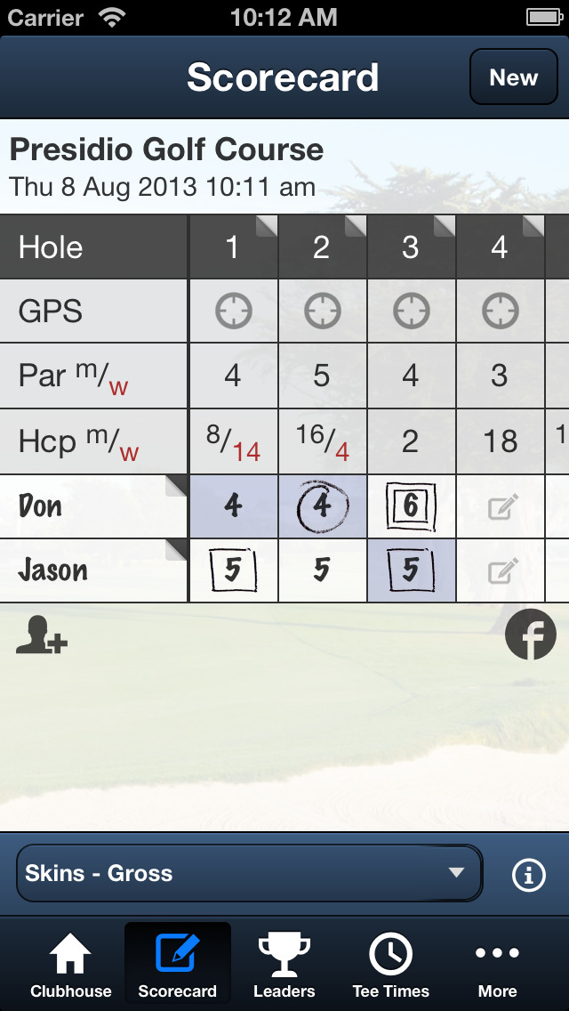 Presidio Golf Course screenshot 4