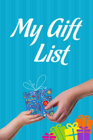 My Gift List! - náhled