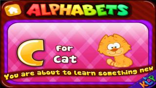 Alphabets Teacher - A to Z HD Lite screenshot 3