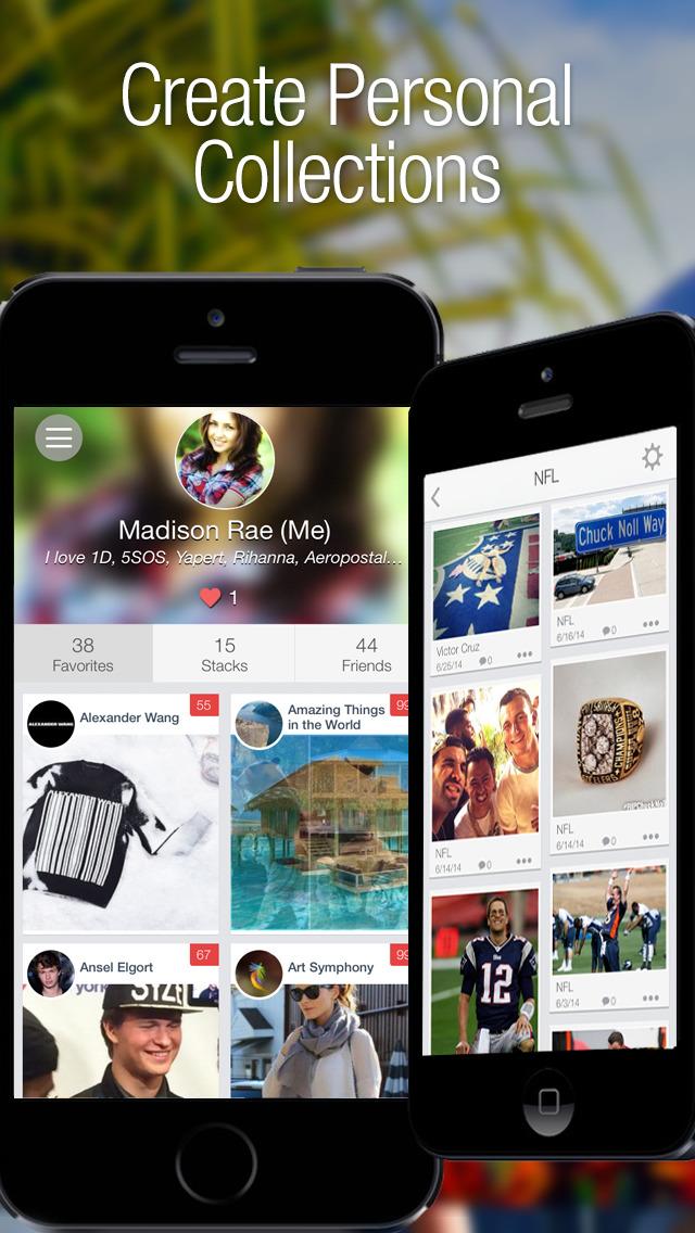 MyFvs: Your Social Fan Magazine screenshot #2