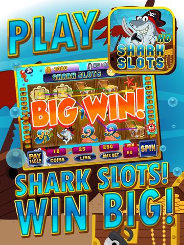 Ace Shark Slots - Fun Fish Tank Bash Vegas Slot Machine Games Free screenshot 6