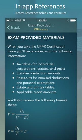 CFP Mastery screenshot 4