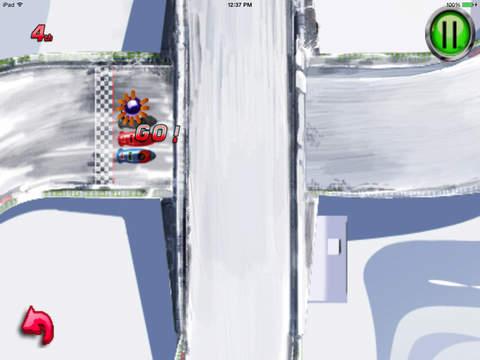 A Ride Sledge : Escape Chase Future Sprint Battle Version HD screenshot 6