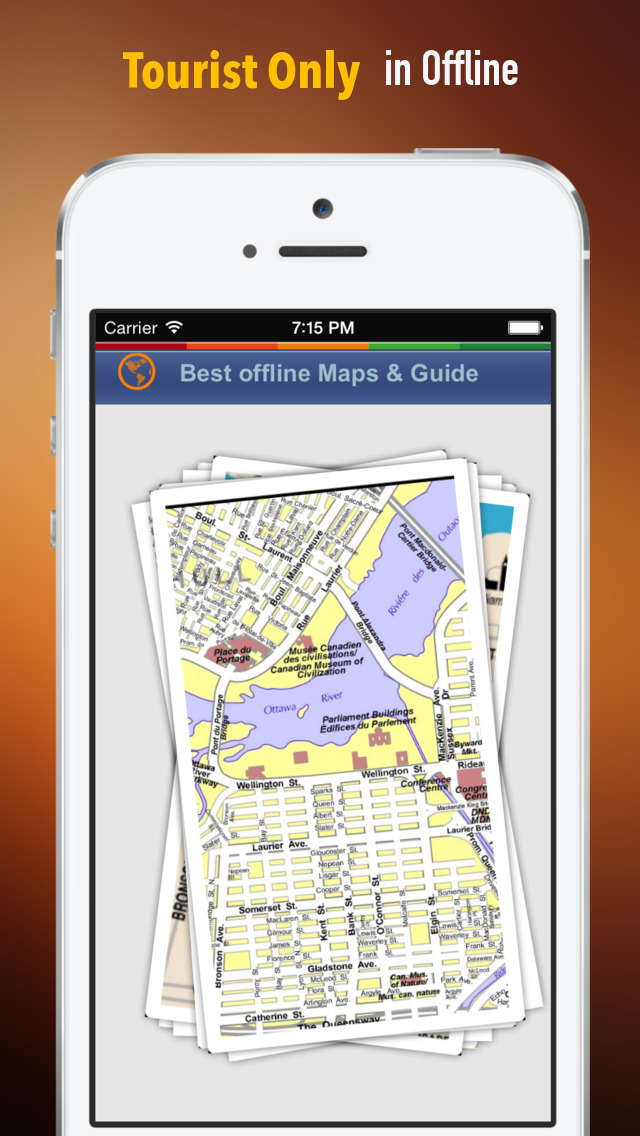 Ottawa Tour Guide: Best Offline Maps with Street View and Emergency Help Info screenshot 1