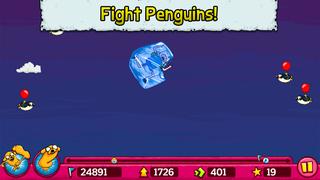 Jumping Finn Turbo - Adventure Time Launcher Game screenshot #2