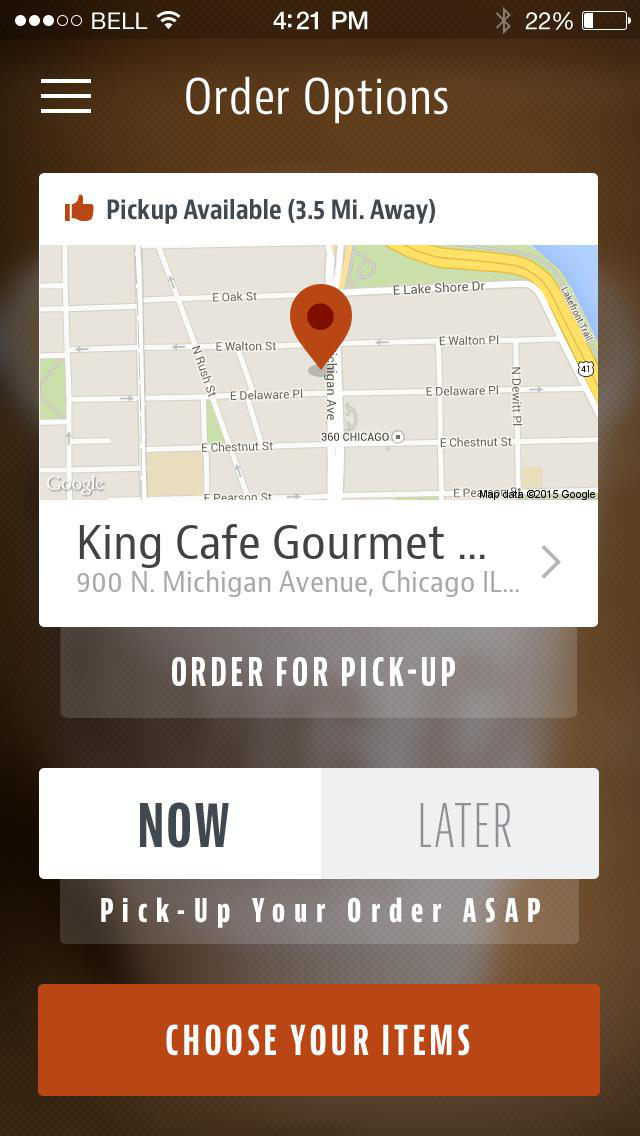 King Cafe Gourmet & Go screenshot 2