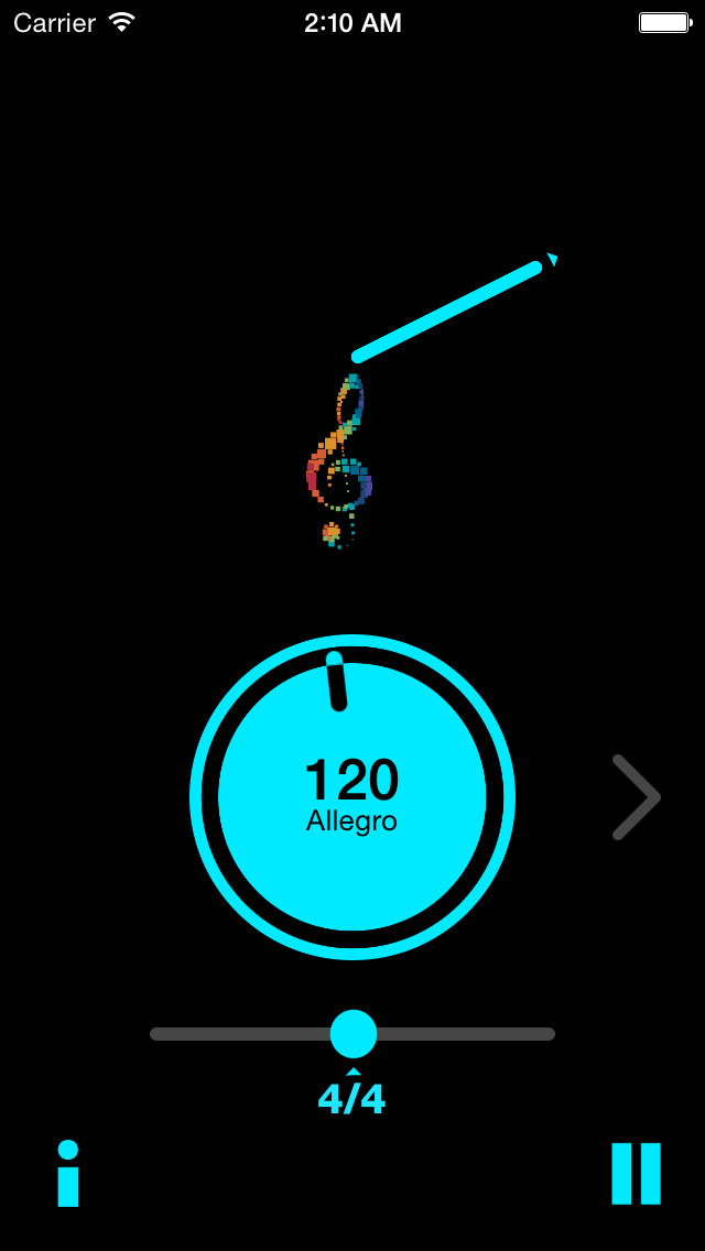 JoyTunes Metronome screenshot 2