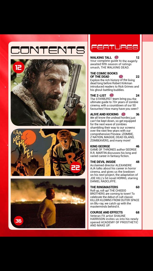Starburst (Magazine) screenshot 2