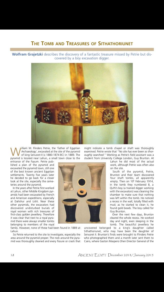 Ancient Egypt Mag screenshot 4