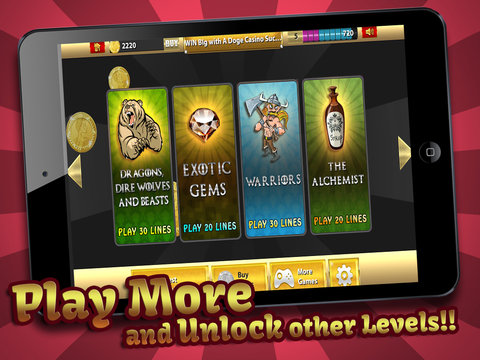Slots - Thrones & Thieves (Big Win King Casino of Fire Warriors & Legends) Free screenshot 7