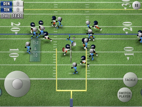 Stickman Football screenshot #2