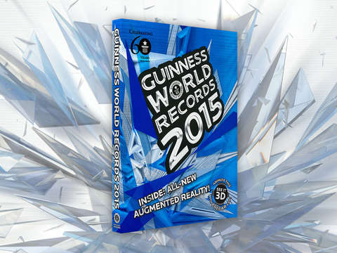GUINNESS WORLD RECORDS 2015 - Augmented Reality screenshot 8