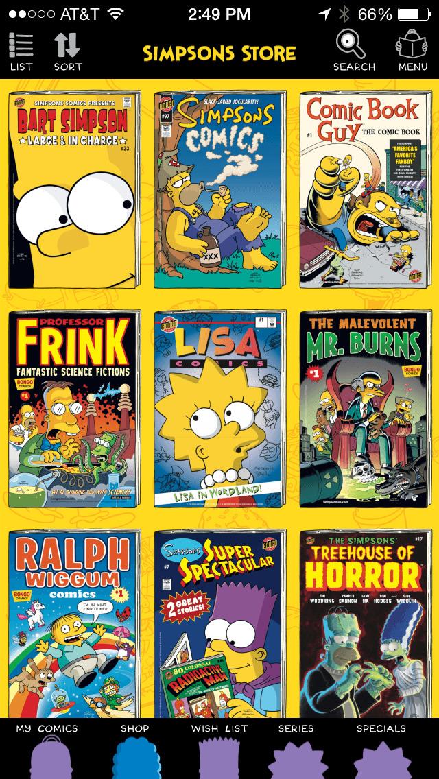 Simpsons Store screenshot 4