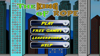 The King Of Rope PRO - Fly, Jump and Run in The Asia City screenshot 1