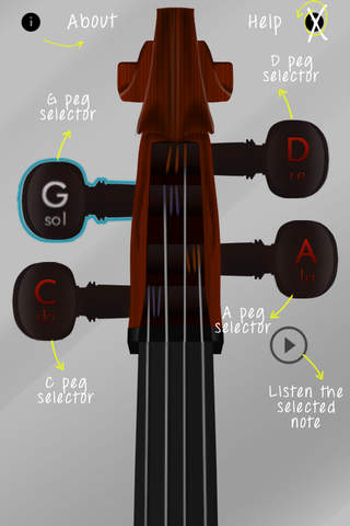 Cello Tune Info No Ads - náhled