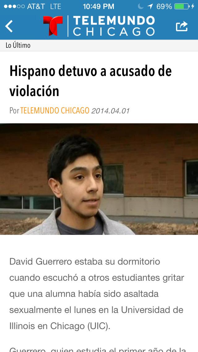 Telemundo Chicago screenshot 4