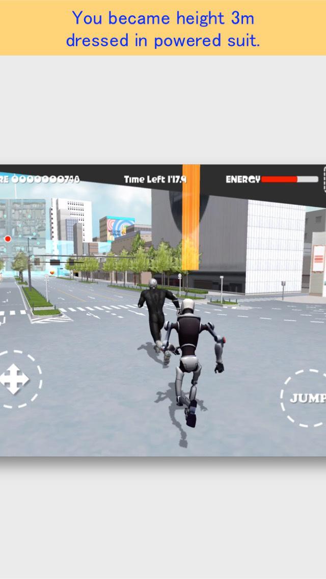 Namba Run Away FREE screenshot 2