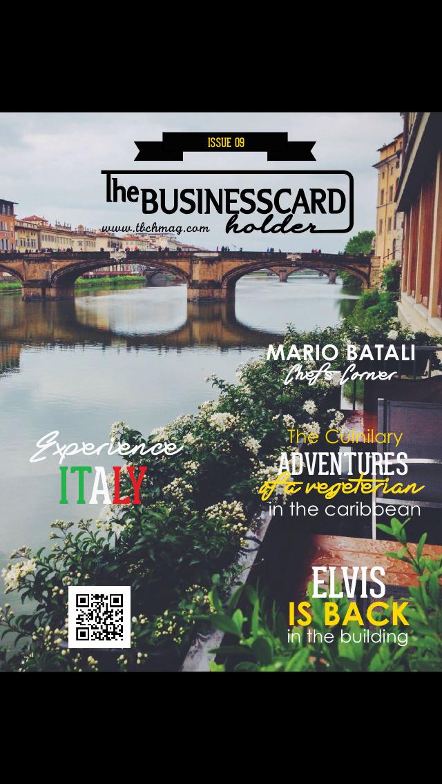The Business Card Holder screenshot 1
