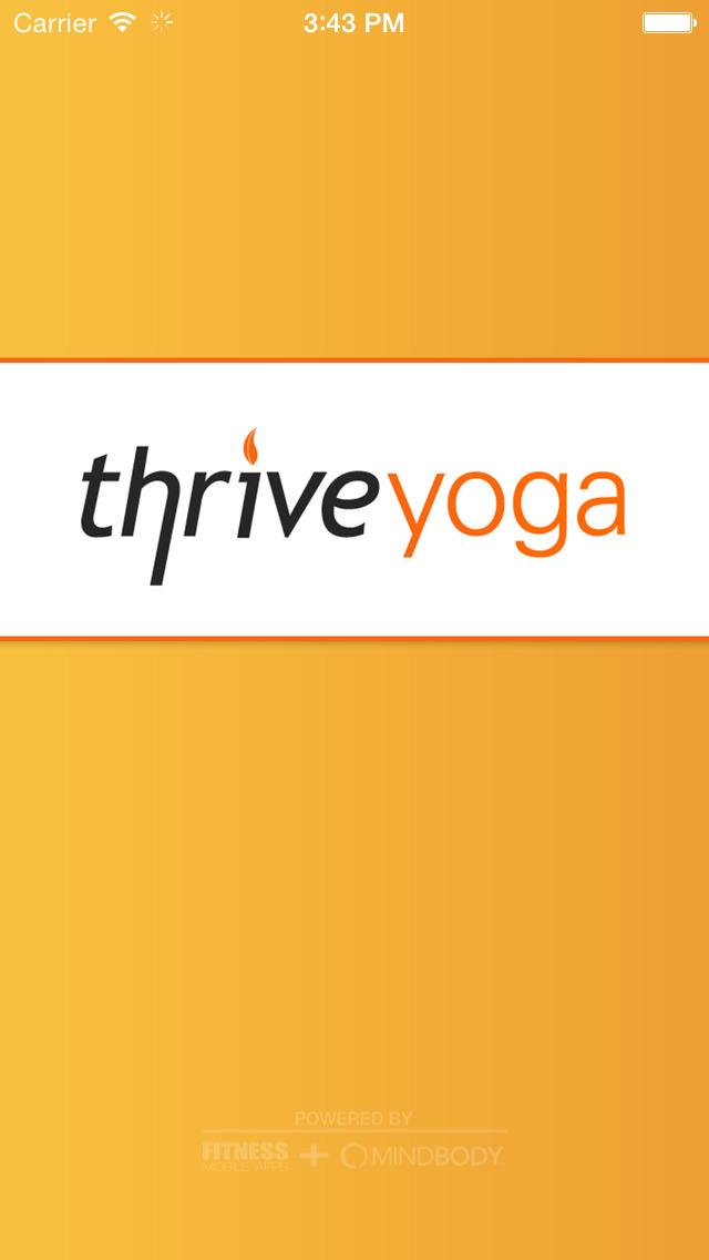 Thrive Yoga screenshot #1