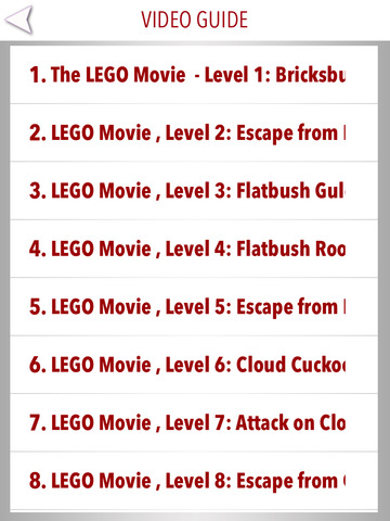 Guide for The Lego Movie - Walkthrough,levels & Trophies screenshot #4