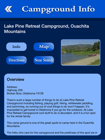 Oklahoma Campgrounds Guide screenshot 8