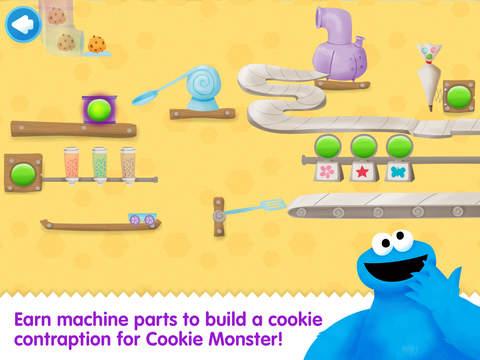 Cookie Monster's Challenge screenshot 1