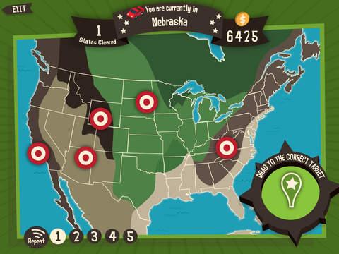 Geography Drive USA screenshot 5