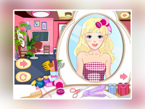 Cute Princess Hairdresser screenshot 7