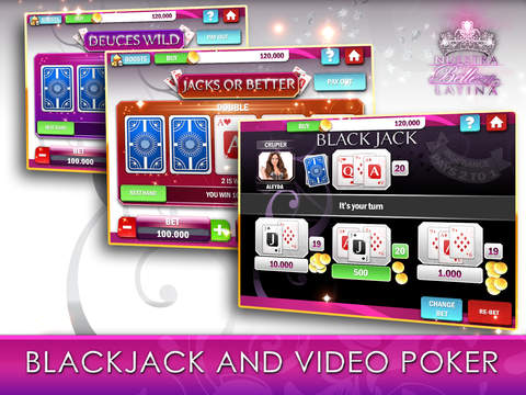 Nuestra Belleza Latina Casino - FREE Slots, Blackjack & Video Poker screenshot 9